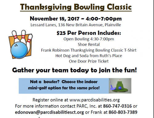 15th Annual Frank Robinson Thanksgiving Bowling Classic