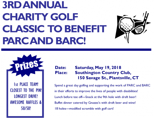 3rd Annual PARC/BARC Golf Classic