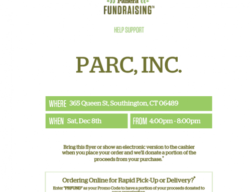 Enjoy Panera and Support PARC!