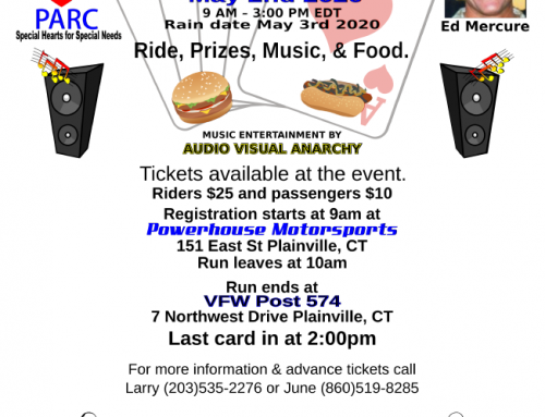 4th Annual Ed Mercure Memorial Poker Run