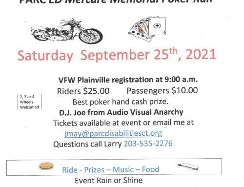 Ed Mercure Memorial Poker Run